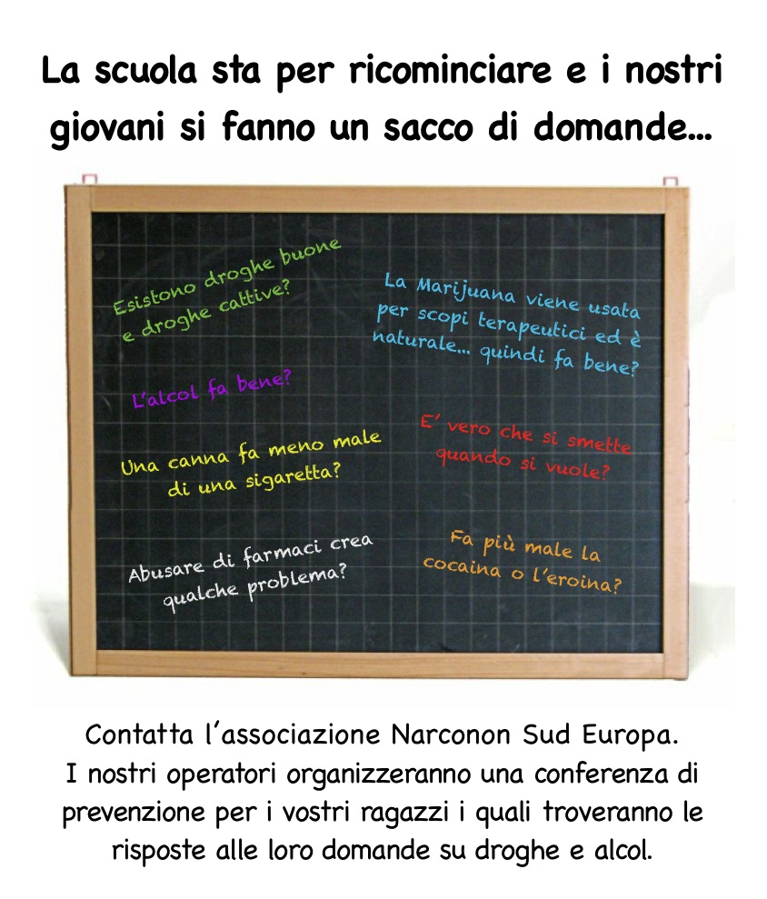prevenzione nelle scuole