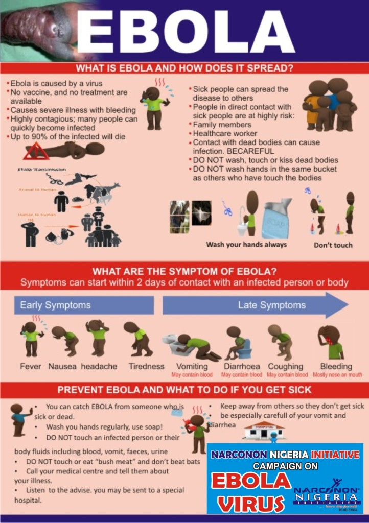 Ebola leaflet