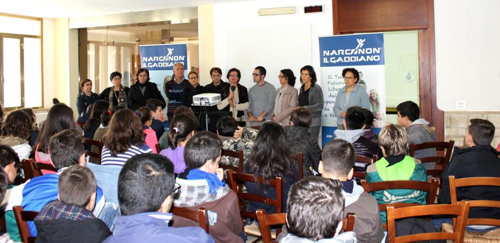 Istituto  Martano in visita al Narconon Gabbiano
