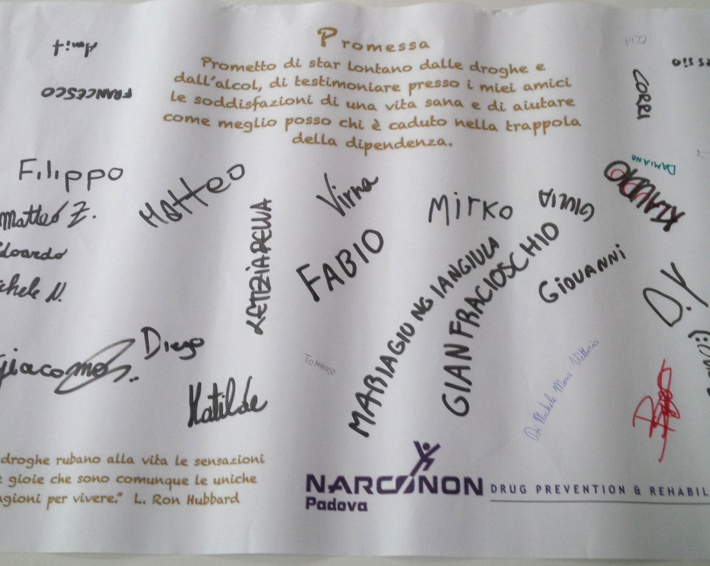 Promessa studenti Padova