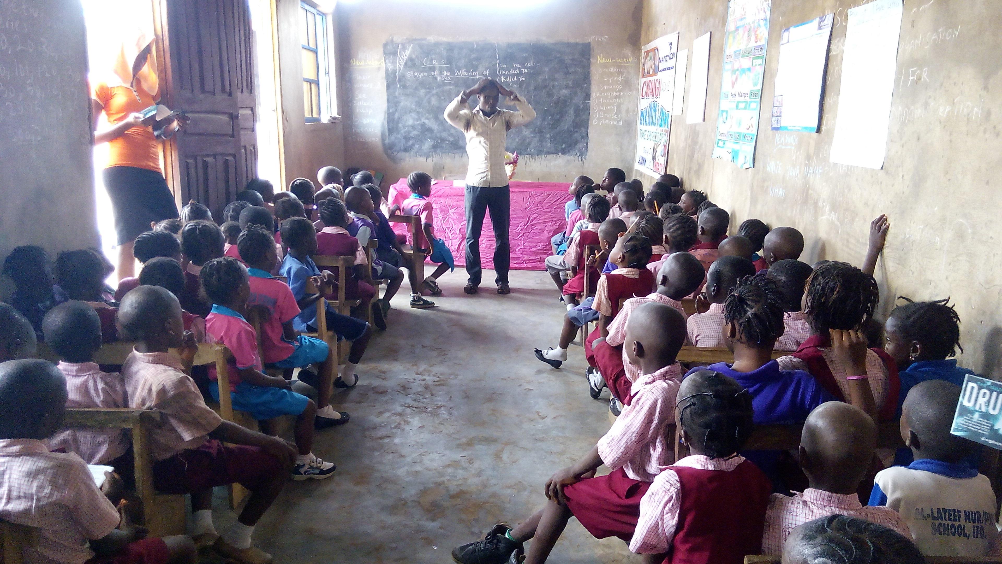 Narconon Nigeria prevenzione nelle scuole