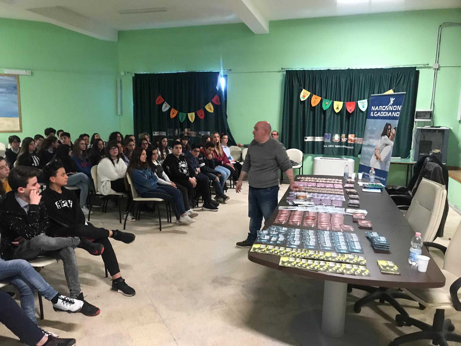 Narconon Gabbiano - conferenza di prevenzione alla tossicodipendenza e all'alcolismo